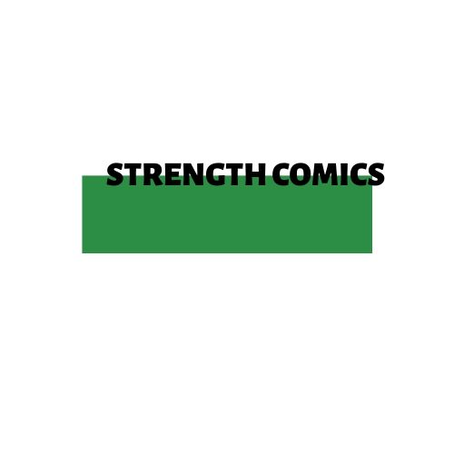 STRENGTH COMICS Logo Box